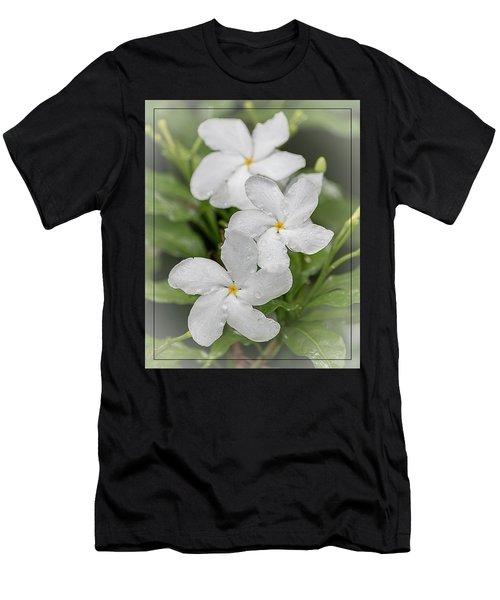 Jasmine In The Rain Men's T-Shirt (Athletic Fit)