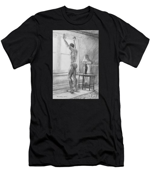 Jason At The Window Men's T-Shirt (Athletic Fit)
