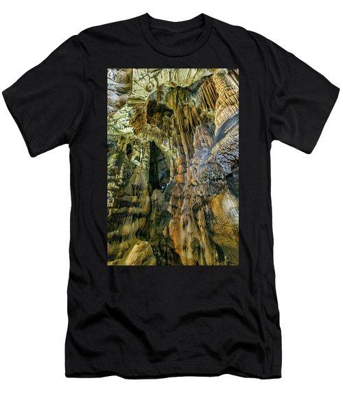 Jasovska Cave, Jasov, Slovakia Men's T-Shirt (Slim Fit) by Elenarts - Elena Duvernay photo