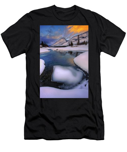 Jasper In The Winter Men's T-Shirt (Athletic Fit)