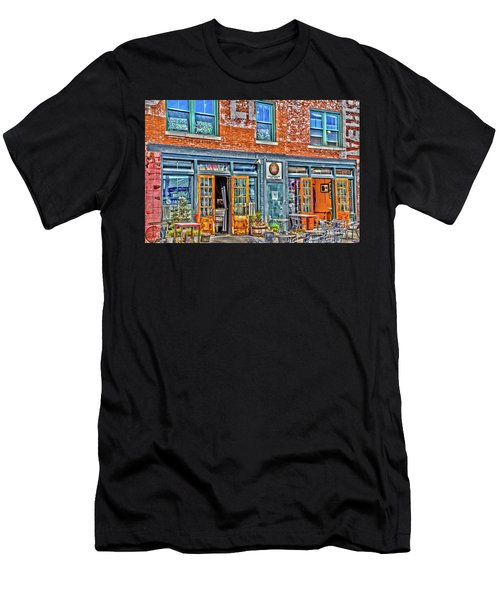 Men's T-Shirt (Athletic Fit) featuring the photograph Java House by William Norton