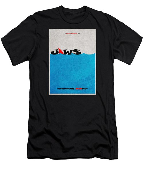 Jaws Men's T-Shirt (Athletic Fit)