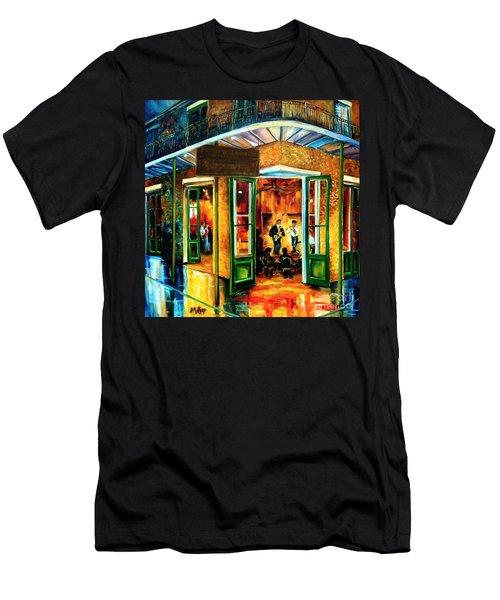 Jazz At The Maison Bourbon Men's T-Shirt (Athletic Fit)