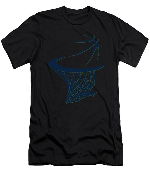 Jazz Basketball Hoop Men's T-Shirt (Athletic Fit)