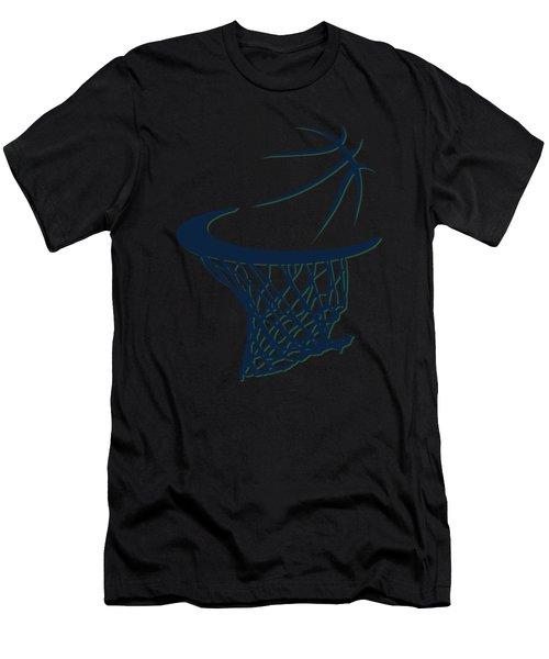 Jazz Basketball Hoop Men's T-Shirt (Athletic Fit)