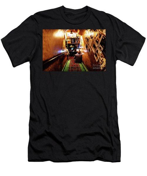 Jazz Club Men's T-Shirt (Slim Fit) by M G Whittingham