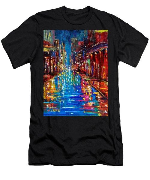 Jazz Drag Men's T-Shirt (Athletic Fit)