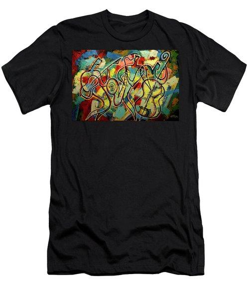 Jazz Rock Men's T-Shirt (Athletic Fit)