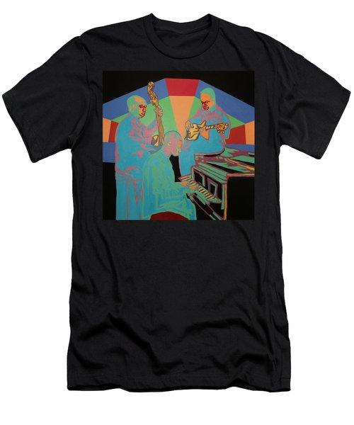 Jazzamatazz Band Men's T-Shirt (Slim Fit) by Angelo Thomas
