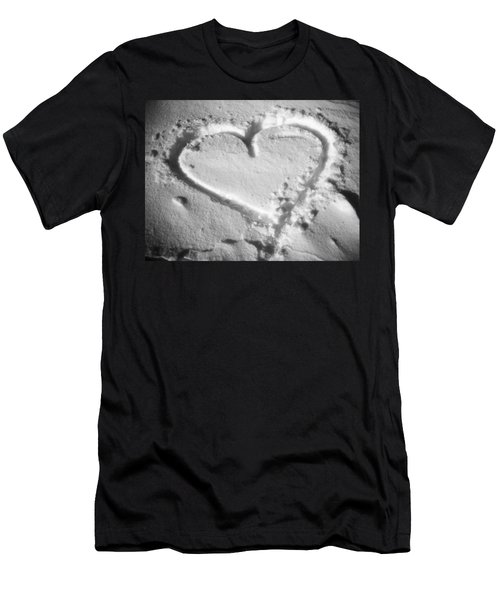 Winter Heart Men's T-Shirt (Athletic Fit)