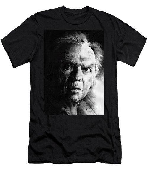 Jean-louis Trintignant Men's T-Shirt (Athletic Fit)
