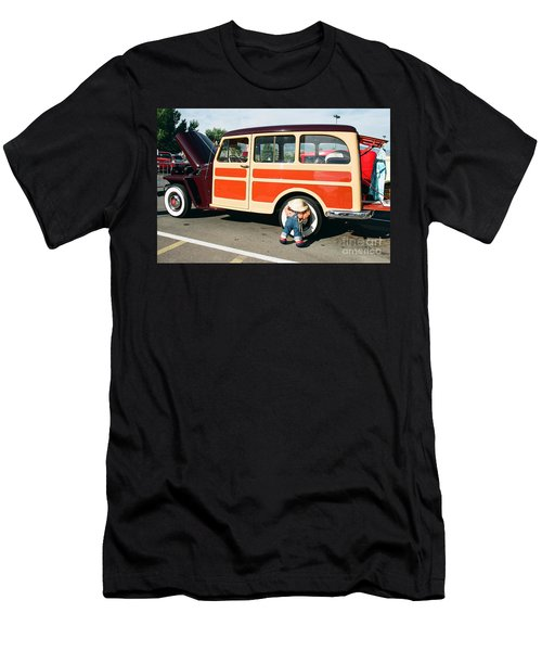 Men's T-Shirt (Slim Fit) featuring the photograph Jeepster by Vinnie Oakes