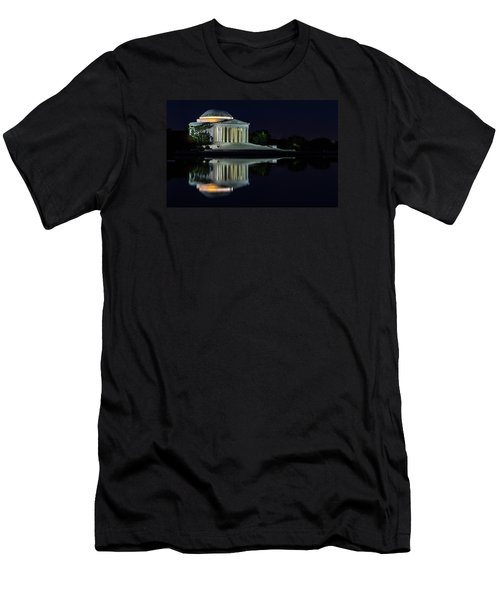 The Jefferson At Night Men's T-Shirt (Athletic Fit)