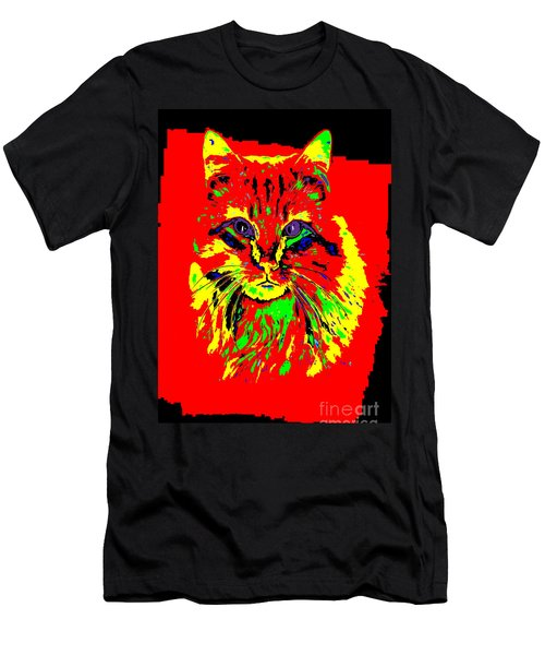 Jekyll The Cat Men's T-Shirt (Athletic Fit)