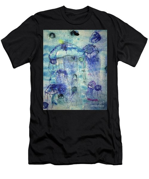 Jellyfish I Men's T-Shirt (Athletic Fit)