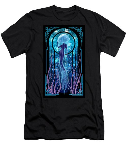 Jellyfish Mermaid Men's T-Shirt (Athletic Fit)