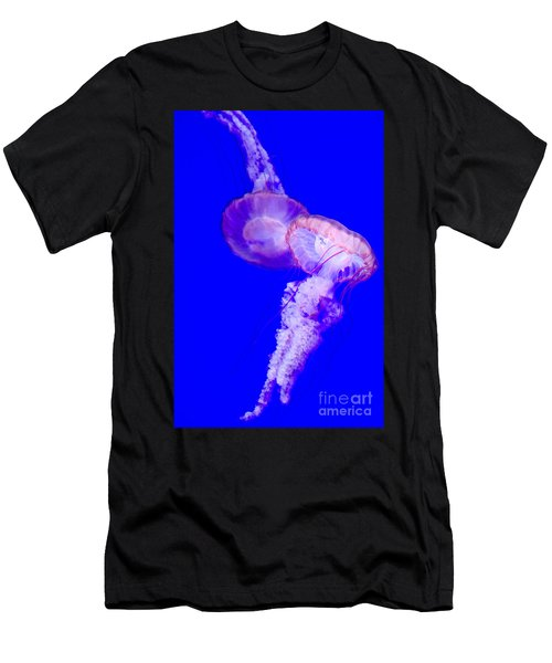 Jellyfish Pair-8765 Men's T-Shirt (Athletic Fit)