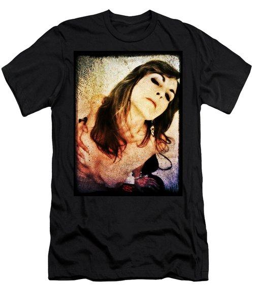 Jenn 2 Men's T-Shirt (Slim Fit) by Mark Baranowski