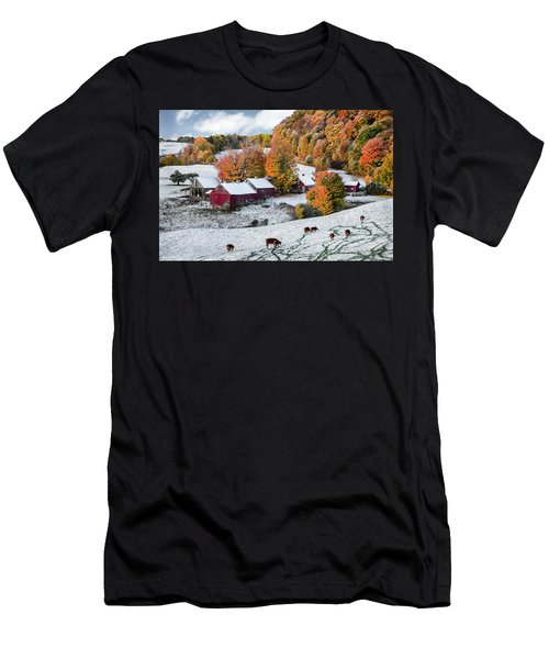 Jenne Farm, Reading, Vt Men's T-Shirt (Athletic Fit)