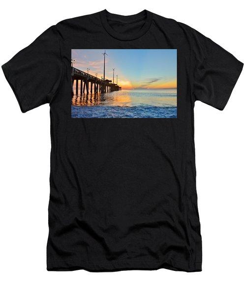 Jennette's Pier Aug. 16 Men's T-Shirt (Athletic Fit)