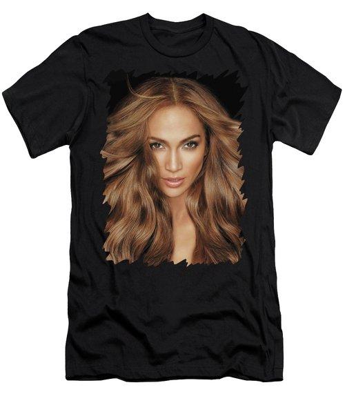 Jennifer Lopez Men's T-Shirt (Athletic Fit)