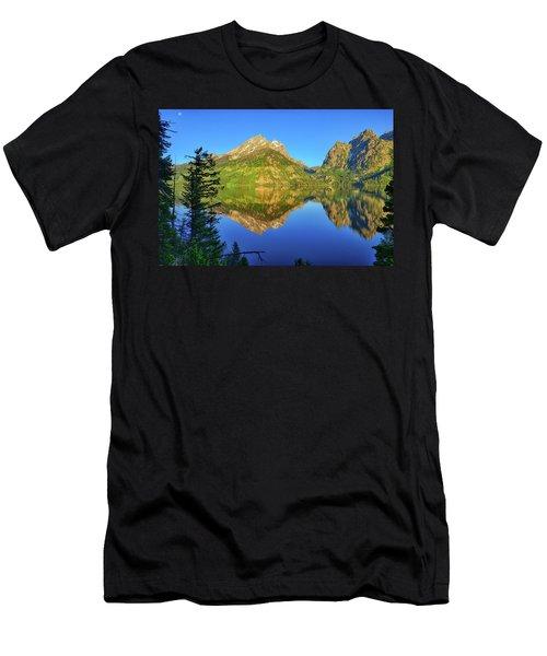 Jenny Lake Morning Reflections Men's T-Shirt (Athletic Fit)