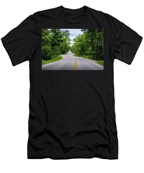 Jens Jensen's Winding Road Men's T-Shirt (Athletic Fit)