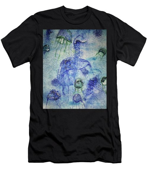 Jellyfish II Men's T-Shirt (Athletic Fit)