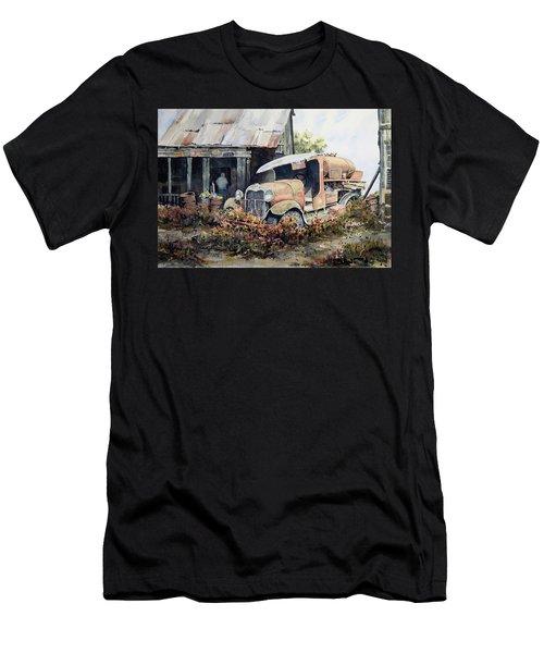 Jeromes Tank Truck Men's T-Shirt (Athletic Fit)