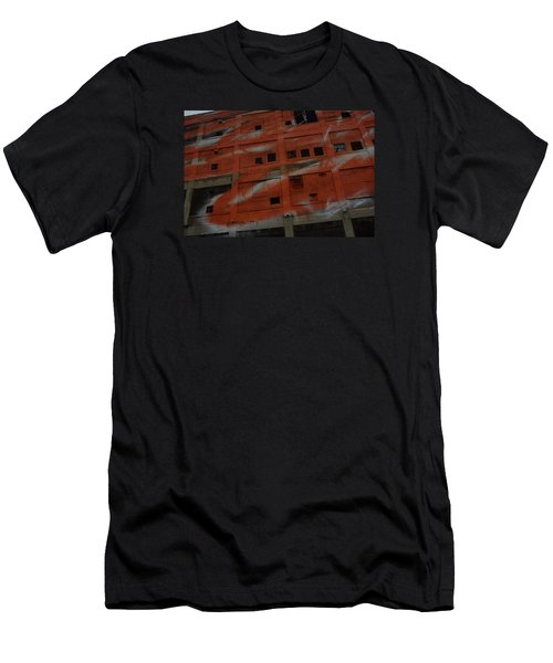 Jersey Building Trainview Men's T-Shirt (Athletic Fit)