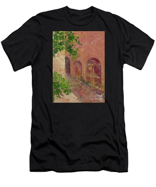 Jerusalem Alleyway Men's T-Shirt (Athletic Fit)