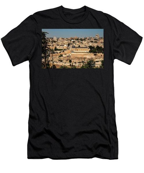 Men's T-Shirt (Athletic Fit) featuring the photograph Jerusalem by Mae Wertz