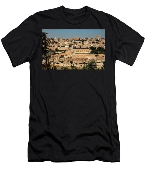 Men's T-Shirt (Athletic Fit) featuring the photograph Jerusalem by Mae Wertz