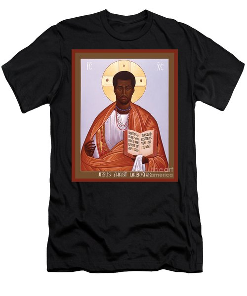 Jesus Christ - Liberator - Rljcl Men's T-Shirt (Athletic Fit)