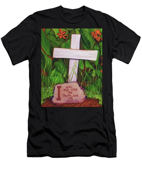 Garden Wisdom, The Way Men's T-Shirt (Athletic Fit)