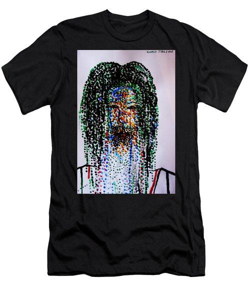 Jesus Lion Of Judah Men's T-Shirt (Athletic Fit)