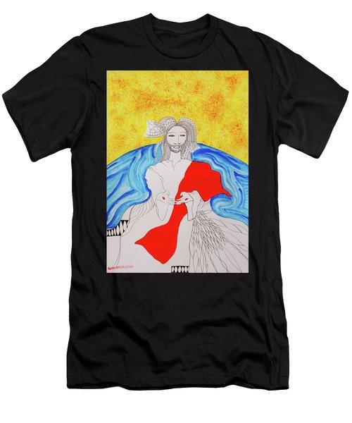 Jesus Messiah Second Coming Men's T-Shirt (Athletic Fit)