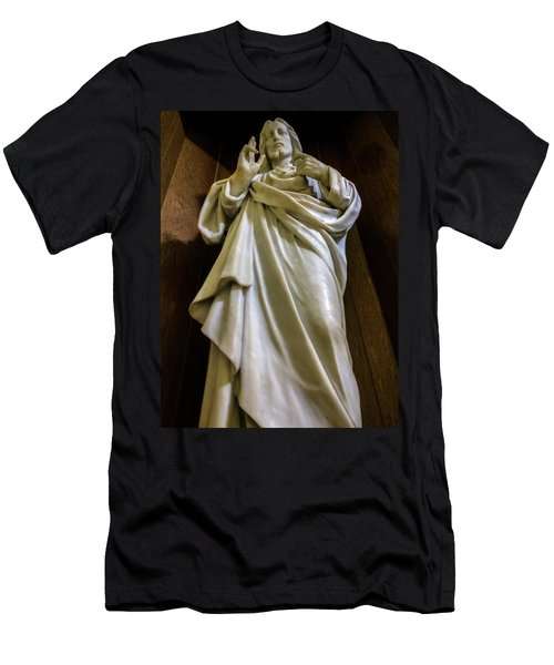 Jesus - Son Of God Men's T-Shirt (Athletic Fit)