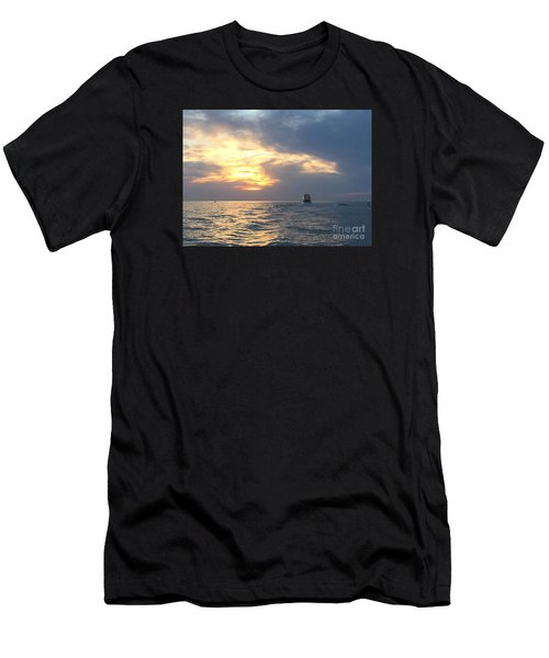Watching Over The Inlet Men's T-Shirt (Athletic Fit)