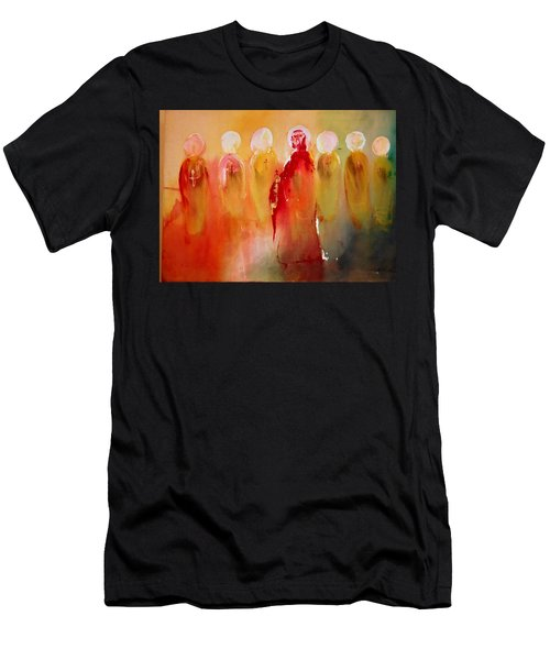 Jesus With His Apostles Men's T-Shirt (Athletic Fit)
