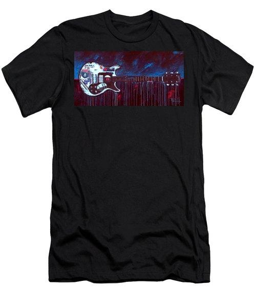 Jett Engine Men's T-Shirt (Athletic Fit)