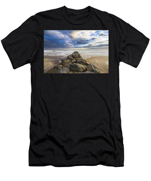 Jetty Four Cloudscape Men's T-Shirt (Athletic Fit)