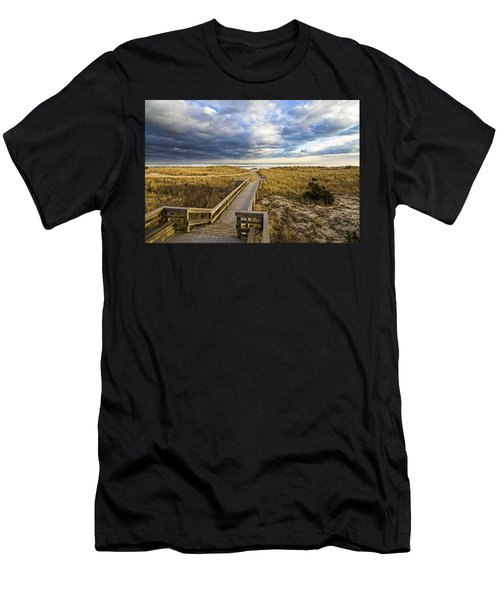 Jetty Four Walkway Men's T-Shirt (Athletic Fit)