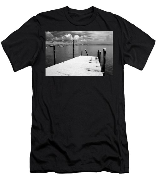 Jetty, Rhos-on-sea Men's T-Shirt (Athletic Fit)