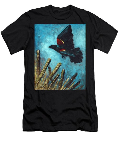 Jewel Among The Cattails Men's T-Shirt (Athletic Fit)