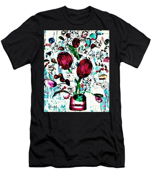 Jewel Bouquet Men's T-Shirt (Athletic Fit)