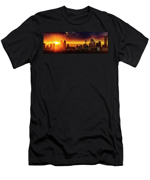 Jewel Of The Foothills Men's T-Shirt (Athletic Fit)