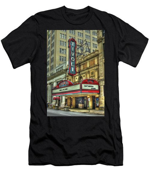 Jewel Of The South Tivoli Chattanooga Historic Theater Art Men's T-Shirt (Athletic Fit)