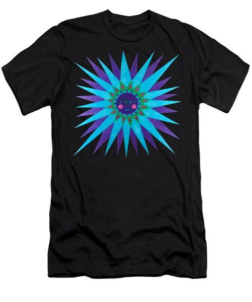 Jeweled Sun Men's T-Shirt (Athletic Fit)