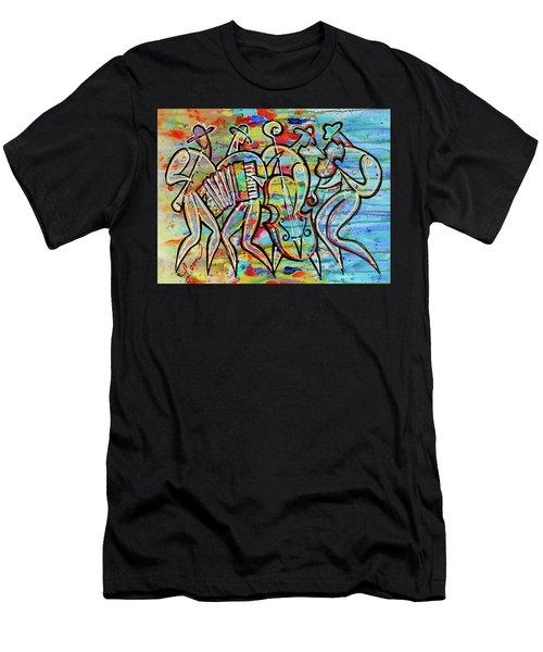 Jewish-funk Klezmer Music Men's T-Shirt (Athletic Fit)